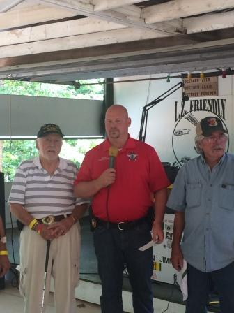 Madison County Sheriff Michael Moore and LZ Friendly Board Members